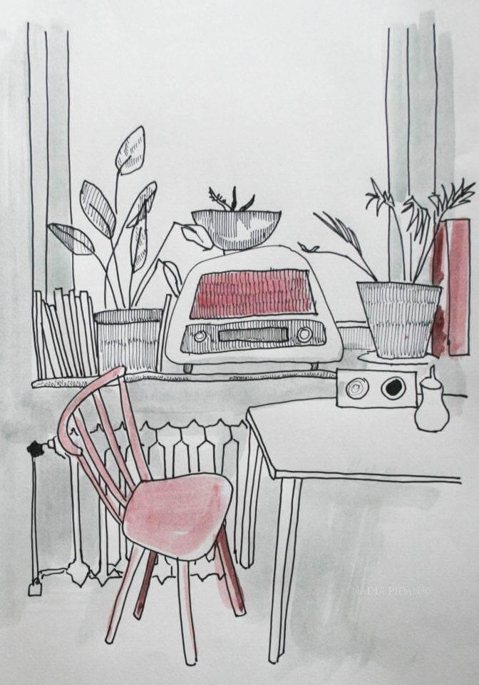 Urban Sketching Nadja