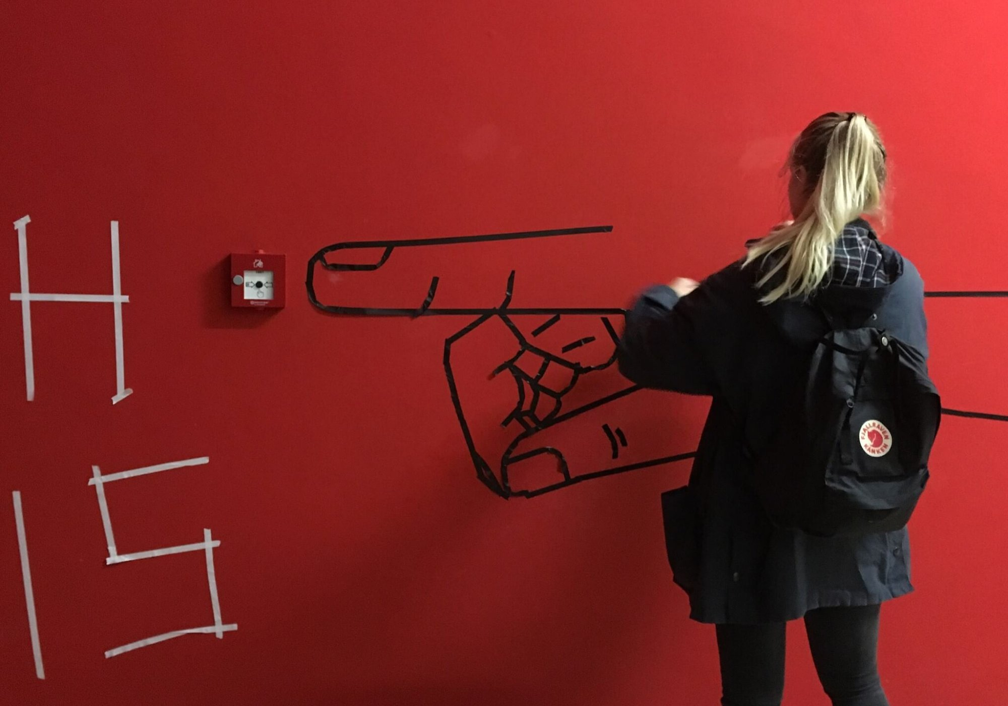 tape art-Workshop
