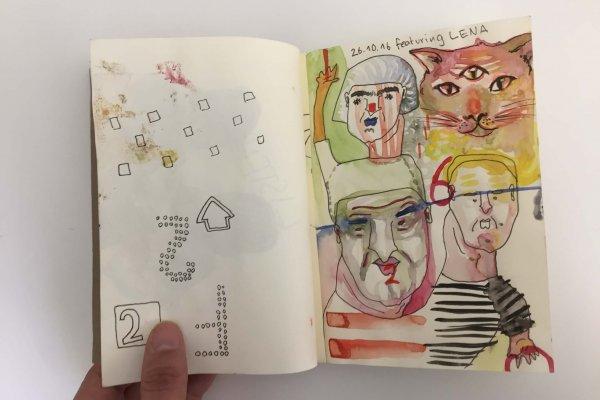 Pauls Skizzenbuch