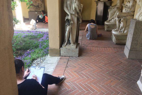Zeichnen Lapidarium