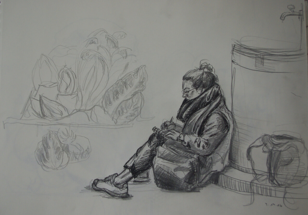 Urban Sketching Doris