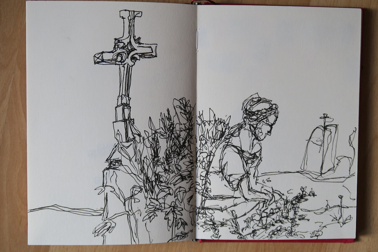 Urban Sketching Clara