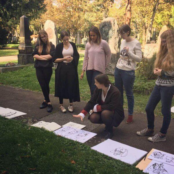 Zeichnen Pragfriedhof