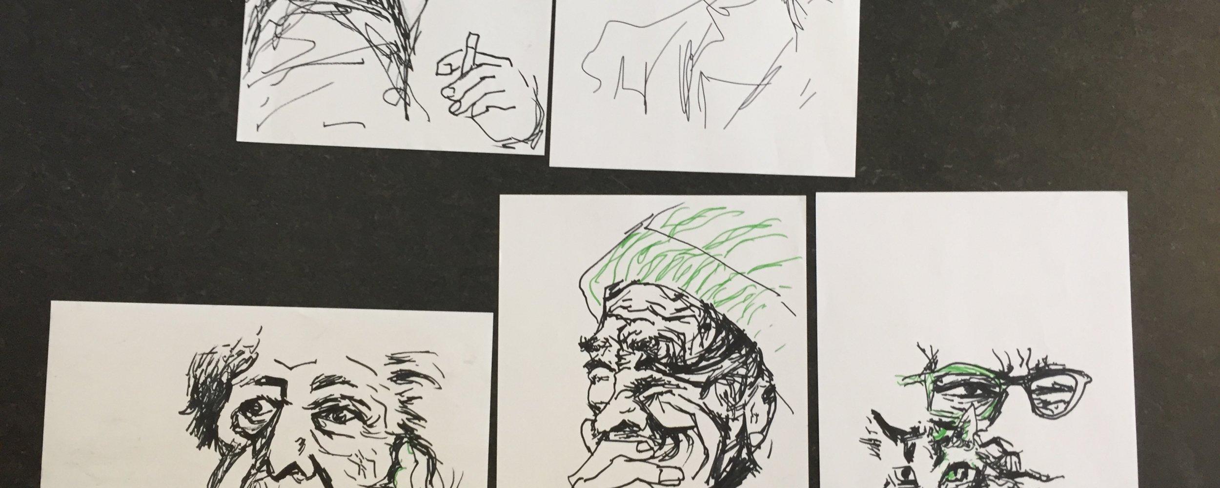 Portrait-Studien