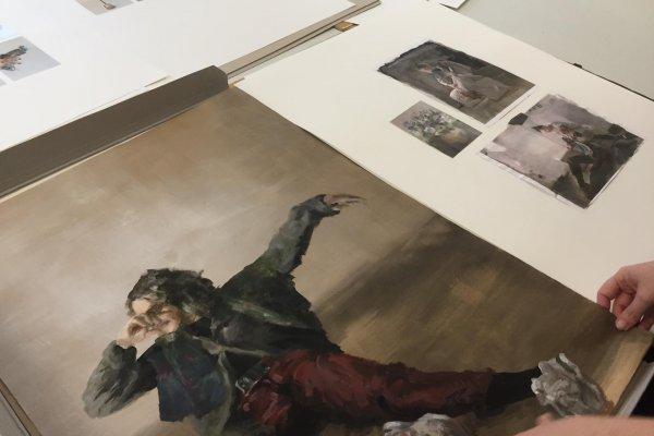 Kreativkreisel Mappenkurs Stuttgart - Malerei