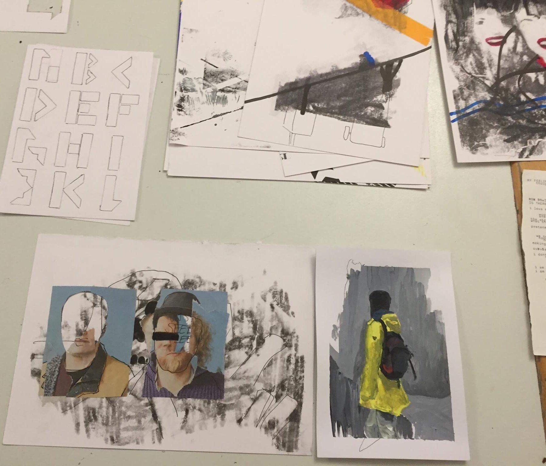 Kreativkreisel Mappenkurs Stuttgart - Prozess
