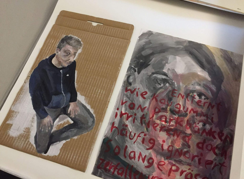 Kreativkreisel Mappenkurs Stuttgart - Schrift und Kunst